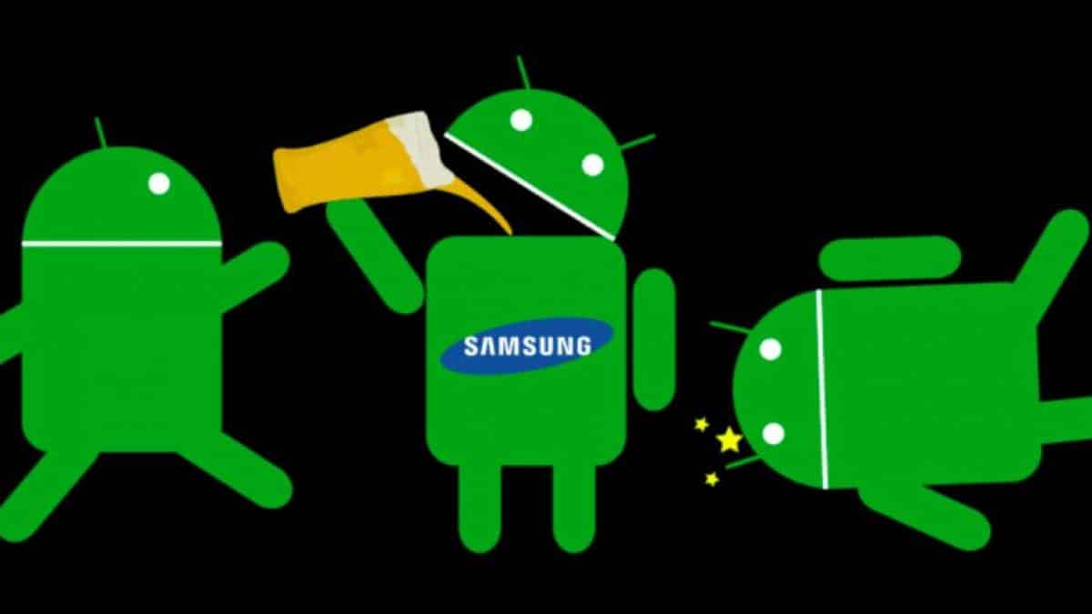 Samsung app falso no Android