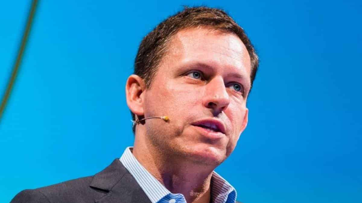 Peter Thiel, executivo do Facebook
