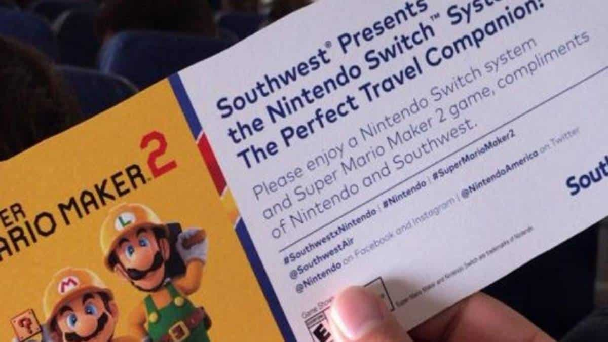 Nintendo Southwest Airline