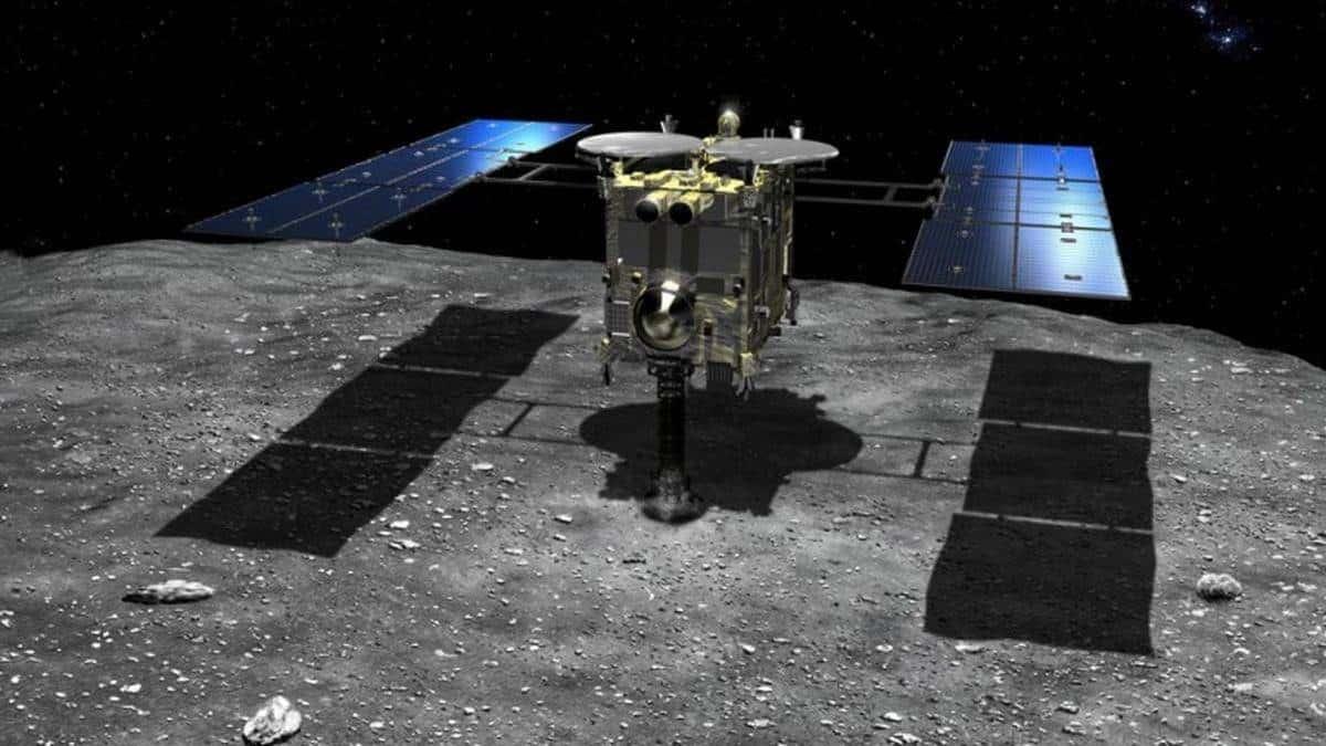 "Resultado de imagem para Sonda japonesa Hayabusa2"""