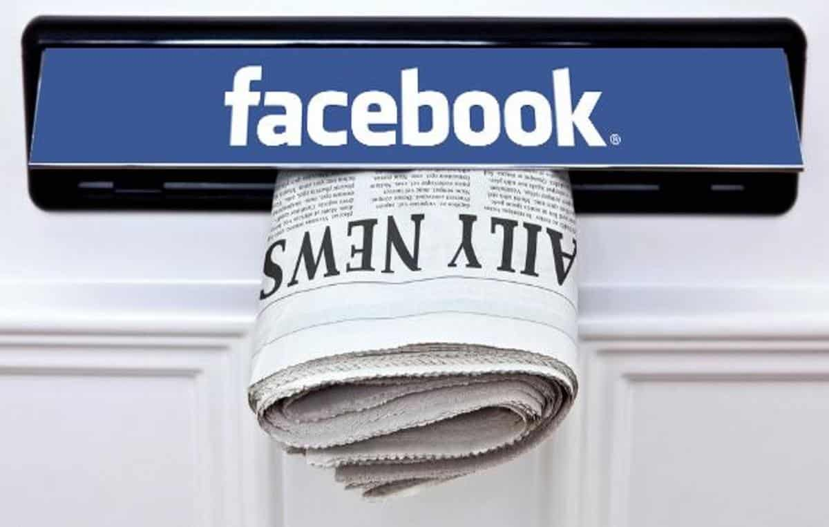 Resultado de imagem para Facebook vai fazer seleção de notícias