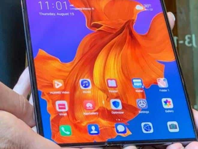 Mate X, celular dobrável da Huawei, será lançado dia 15 de novembro