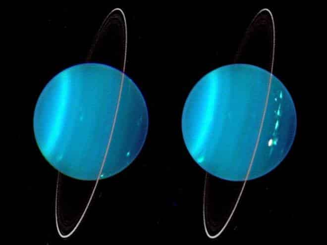 Pela primeira vez, cientistas capturam o brilho dos anéis de Urano