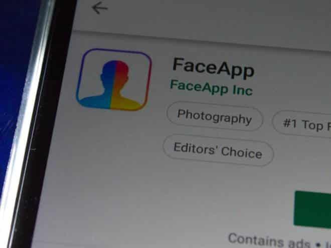 FBI alerta sobre risco de segurança no uso do aplicativo FaceApp