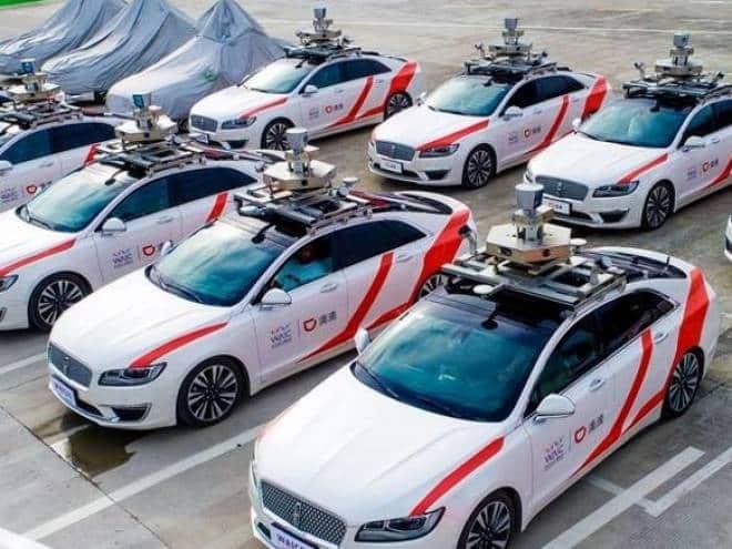 Empresa dona da 99 prepara frota de táxis autônomos na China