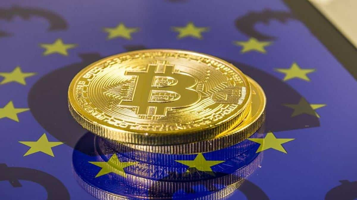 Zona do euro - criptomoeda