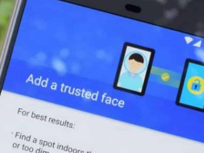 Trusted Faces, sistema de desbloqueio facial, é removido do Android