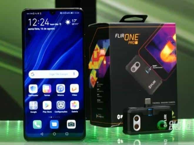 Hands-on da Flir One Pro: uma câmera termal para smartphones
