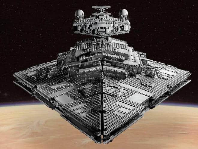 Lego anuncia nave de Star Wars com quase 5 mil peças