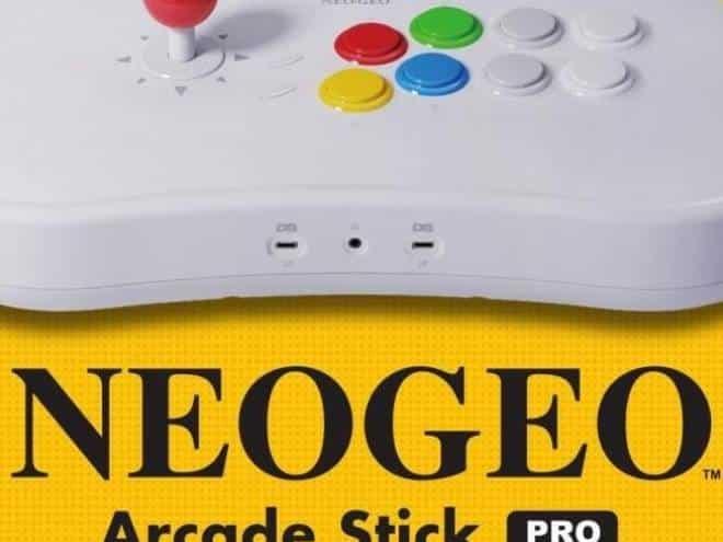 SNK anuncia o Neo Geo Arcade Stick Pro, controle que também é console