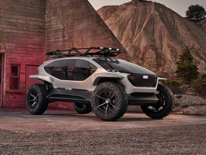 Audi apresenta conceito de veículo 4X4 totalmente elétrico