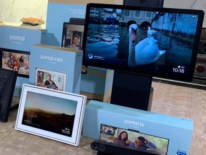 Facebook lança Portal que permite chamadas de vídeo pela televisão