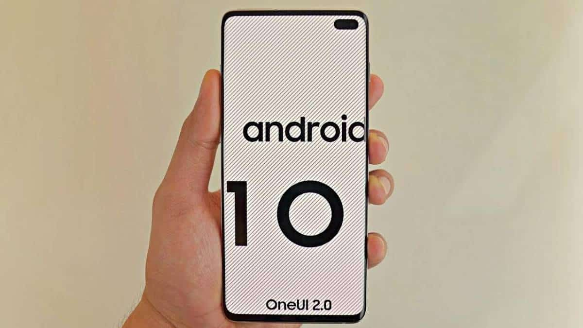 Samsung e Android 10
