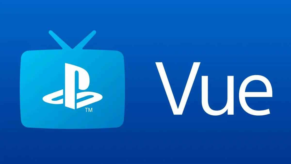 Logo do PlayStation Vue
