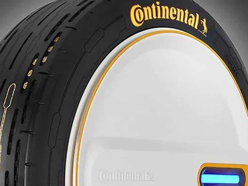 Empresa alem? desenvolve pneu que enche sozinho