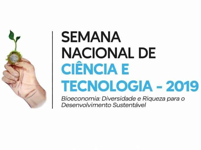 Semana Nacional de Ciência e Tecnologia começa segunda-feira