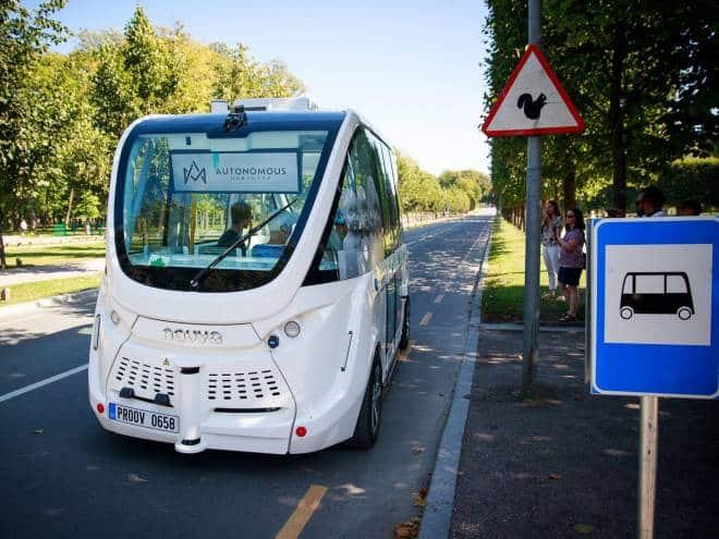 Na Estônia, os robôs fazem todo tipo de entrega