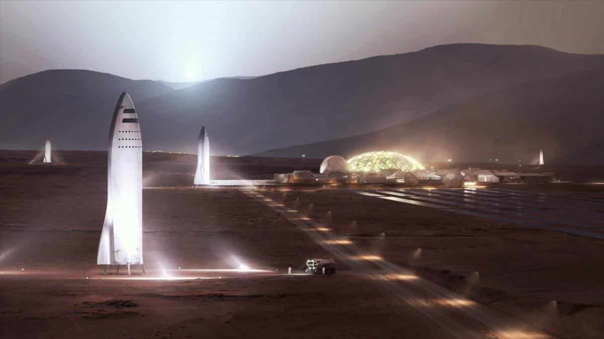 Elon Musk quer enviar 1 milhão de pessoas para Marte até 2050