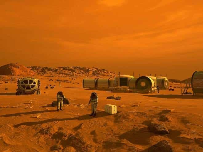Estudo de fotos mostra vida em Marte
