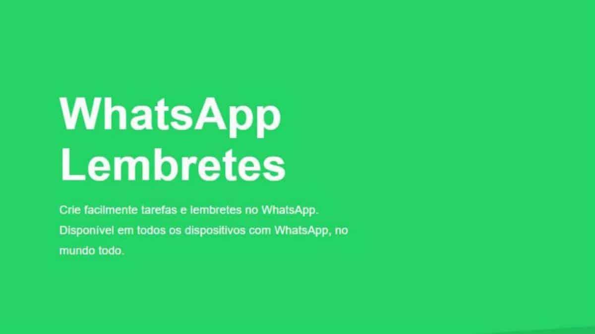 WhatsApp Lembretes