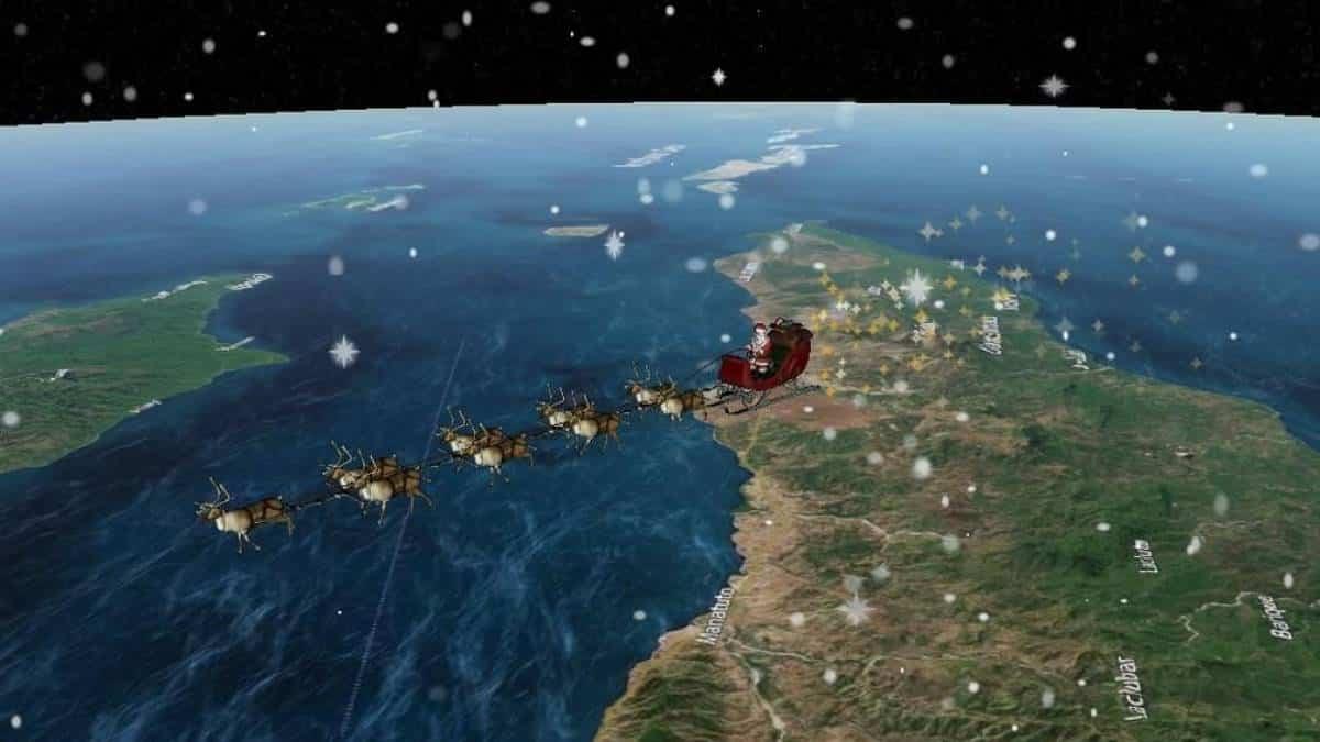 A Rena Mais Famosa Do Papai Noel acompanhe ao vivo a jornada do papai noel pelo mundo