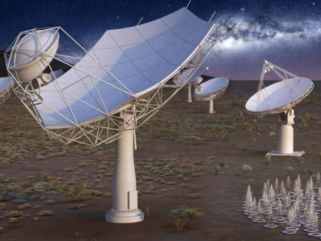 Rede de antenas na África vai caçar alienígenas