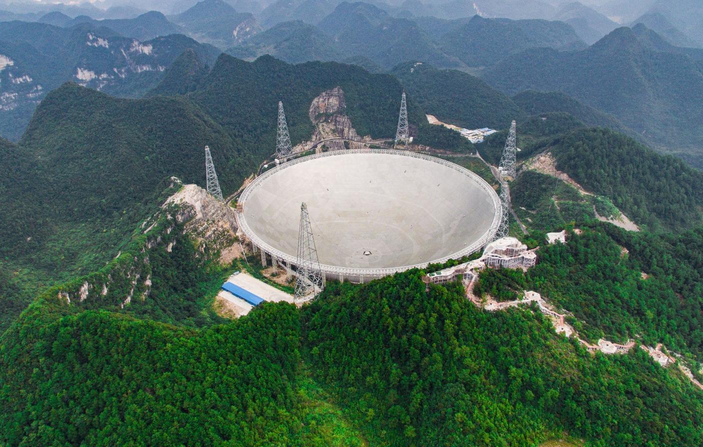 Telescópio gigante chinês vai caçar ETs