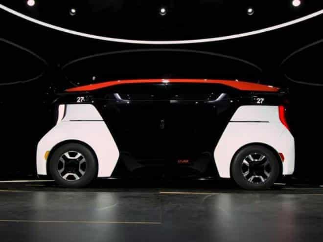Primeiro carro elétrico autônomo sem volante