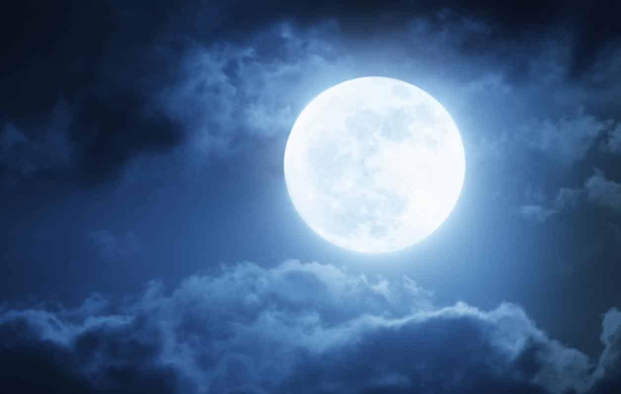 Acompanhe as datas em que a Lua cheia aparecerá em 2020