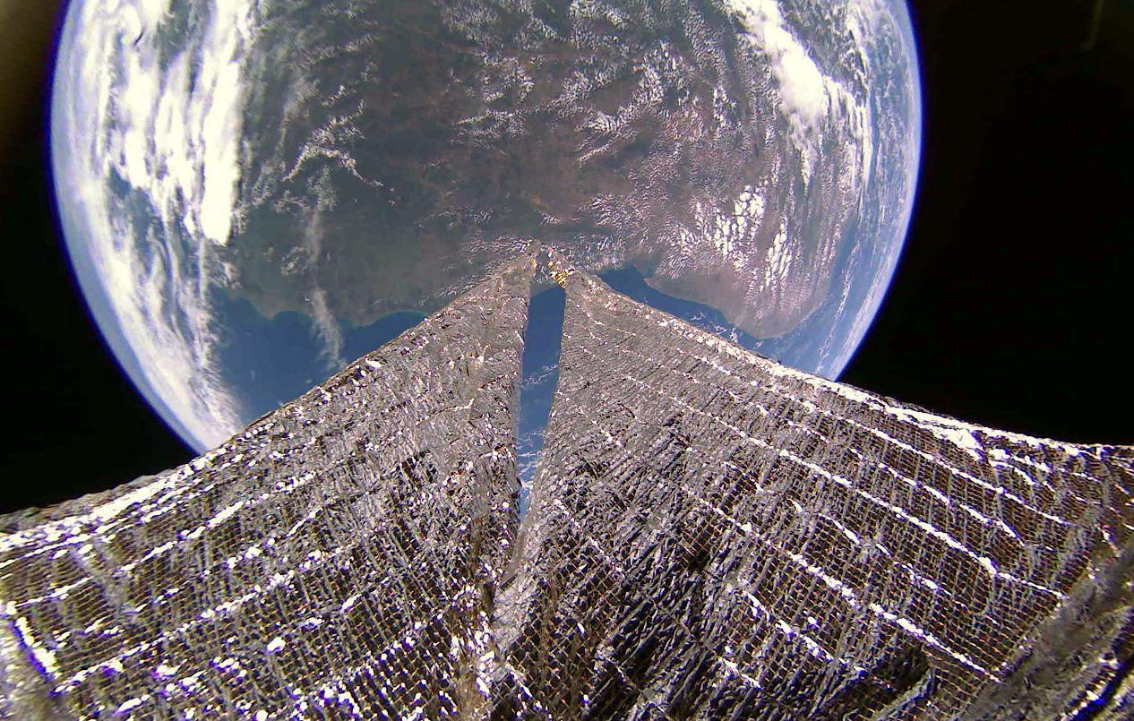 LightSail 2 captura novas fotos incríveis da Terra vista do espaço