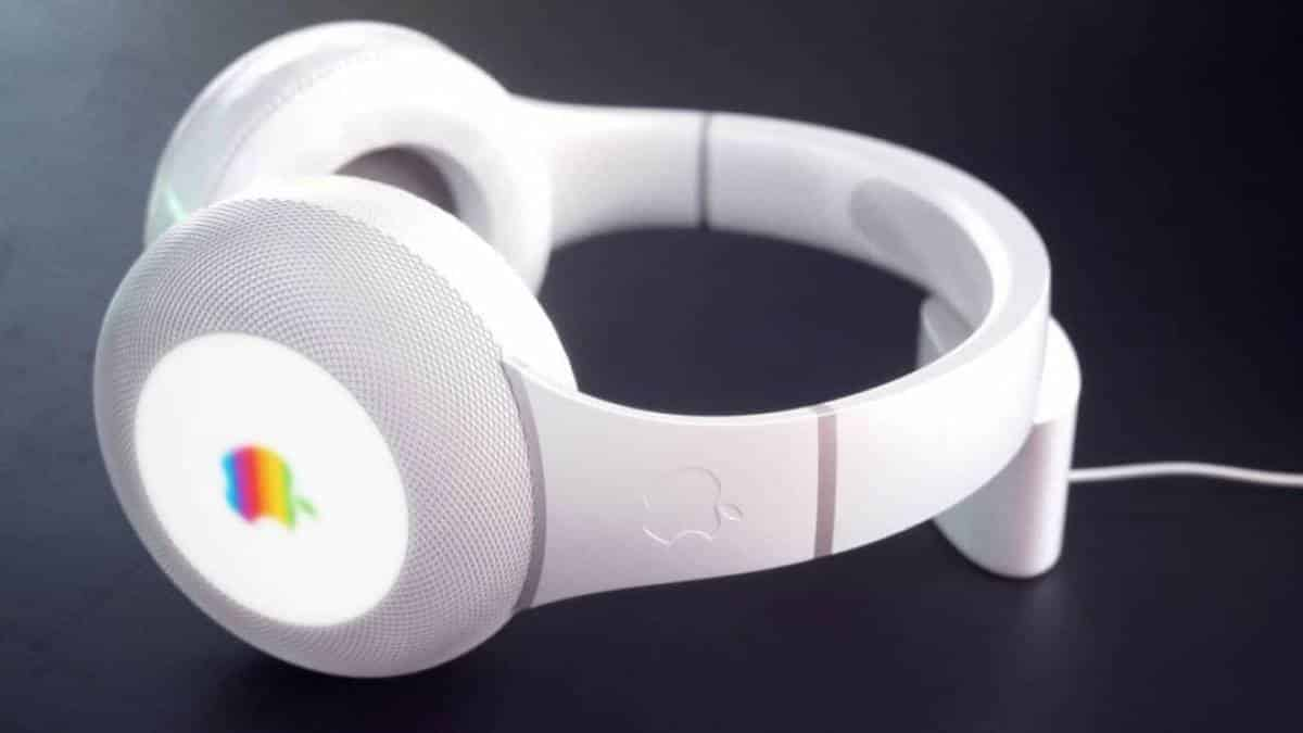 Conceito Apple Headset