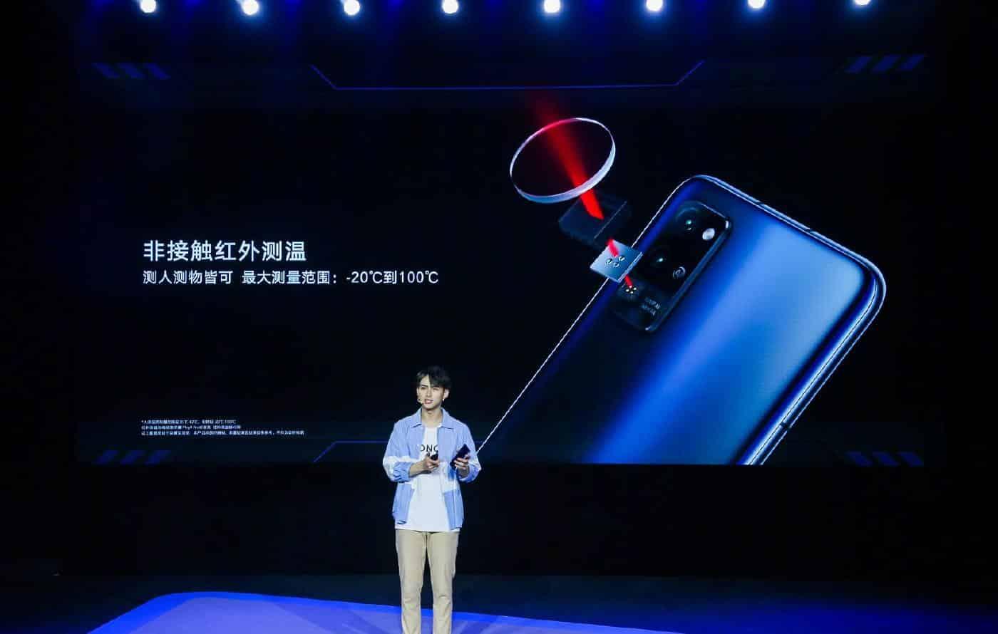 Em meio à pandemia, Huawei revela celular com termômetro infravermelho