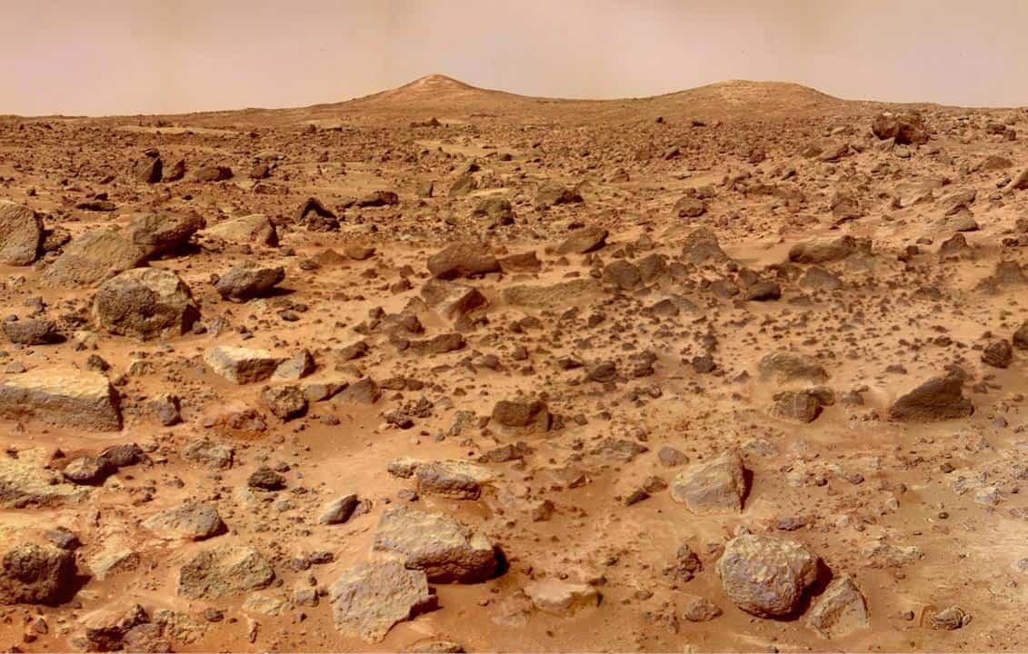 Solo de Marte se inclina em eclipses solares