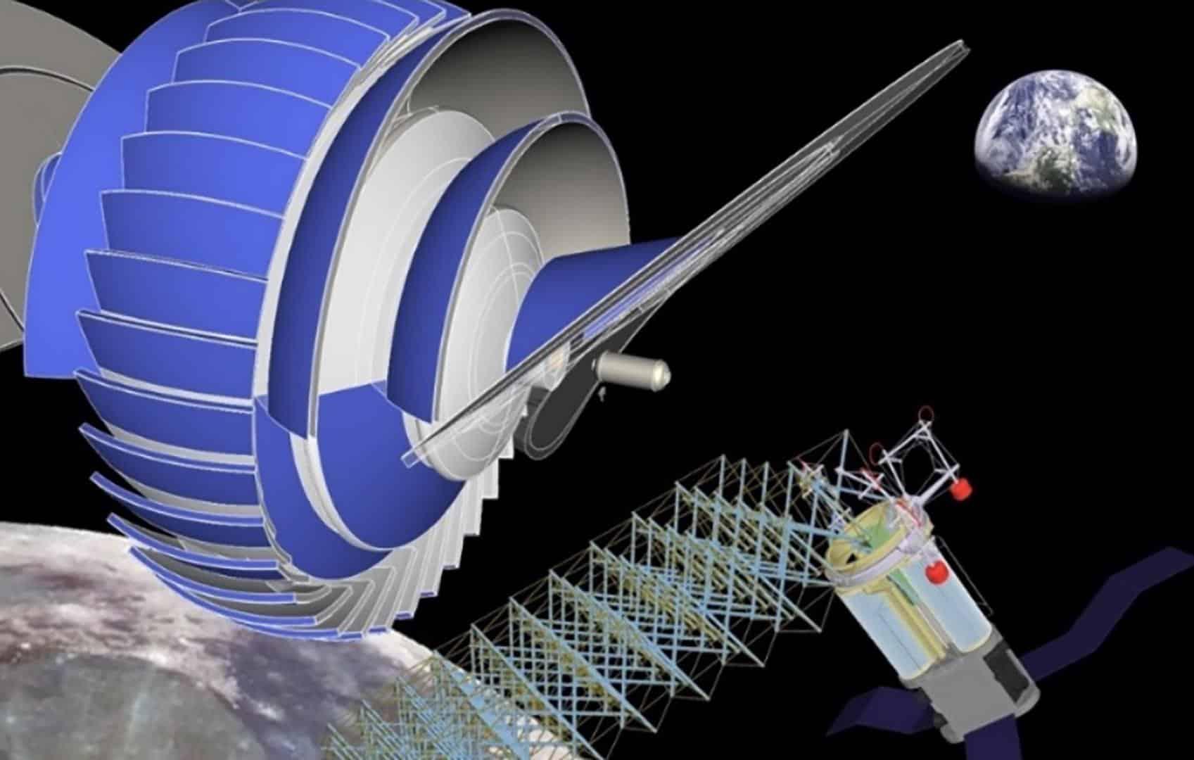 Projeto de espaçonave usa rotação para simular gravidade