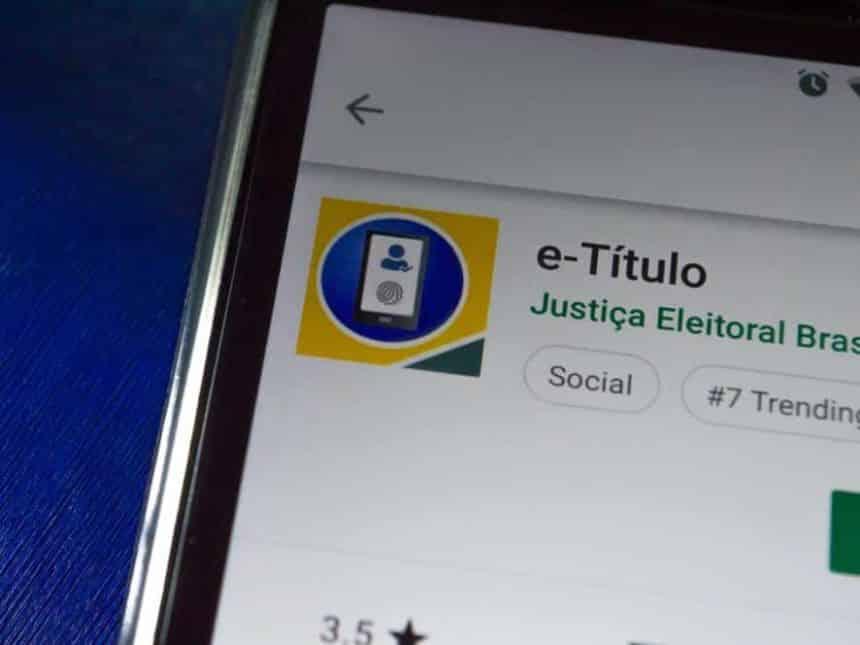 Justificativa de voto poderá ser feita por aplicativo nesta eleição