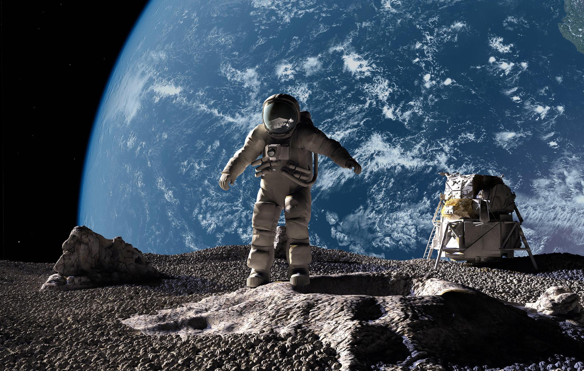 Nasa deve anunciar descoberta sobre a Lua na próxima segunda-feira