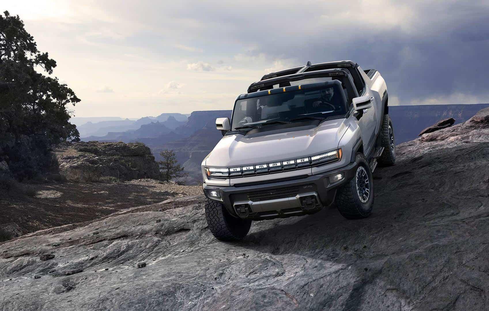 GM apresenta o Hummer elétrico, com lançamento para 2021