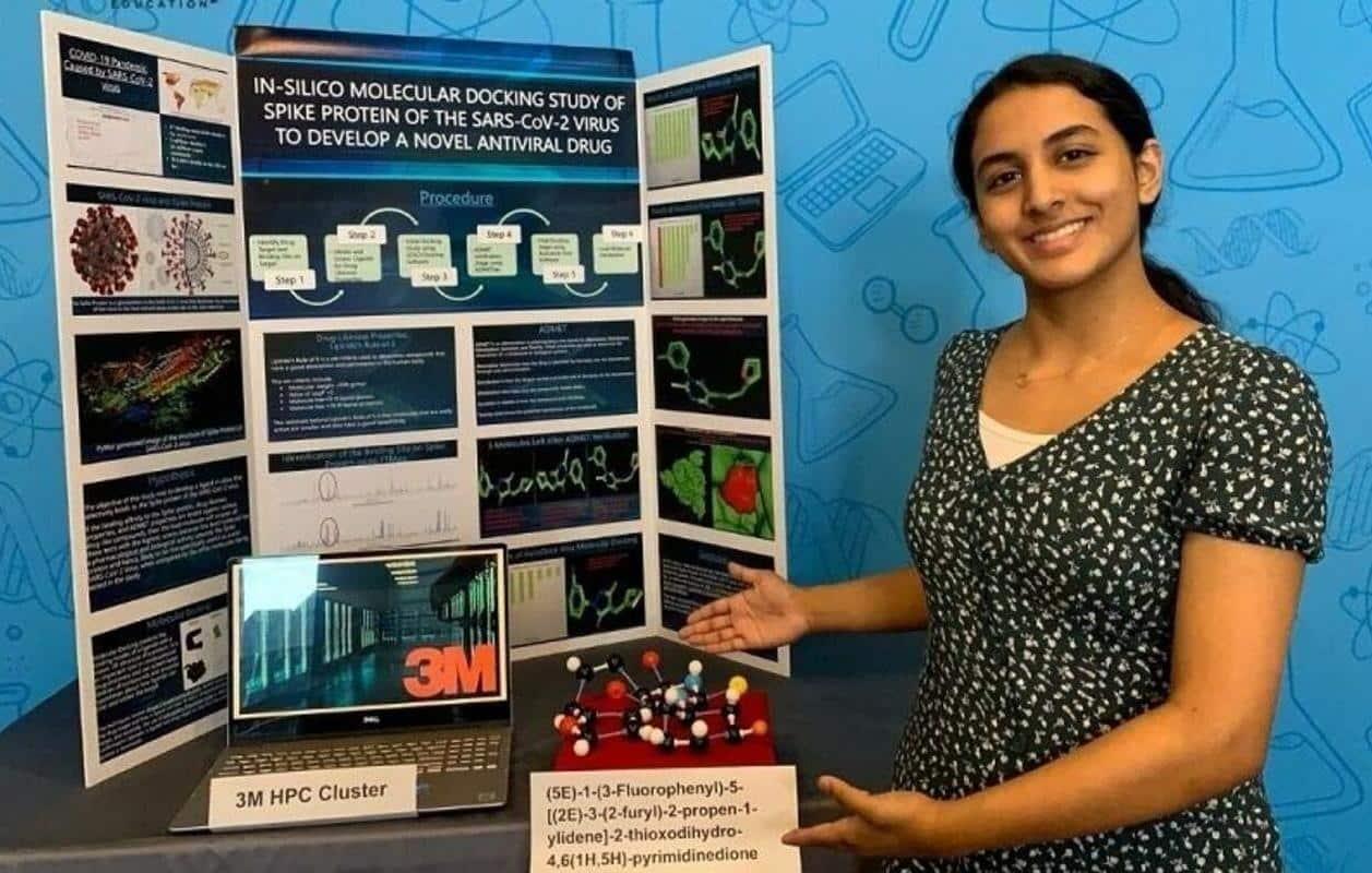 Menina de 14 anos descobre possível medicamento contra a Covid-19 - Olhar Digital