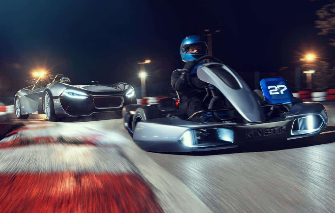 Conheça o '27', kart elétrico com chassi impresso em 3D