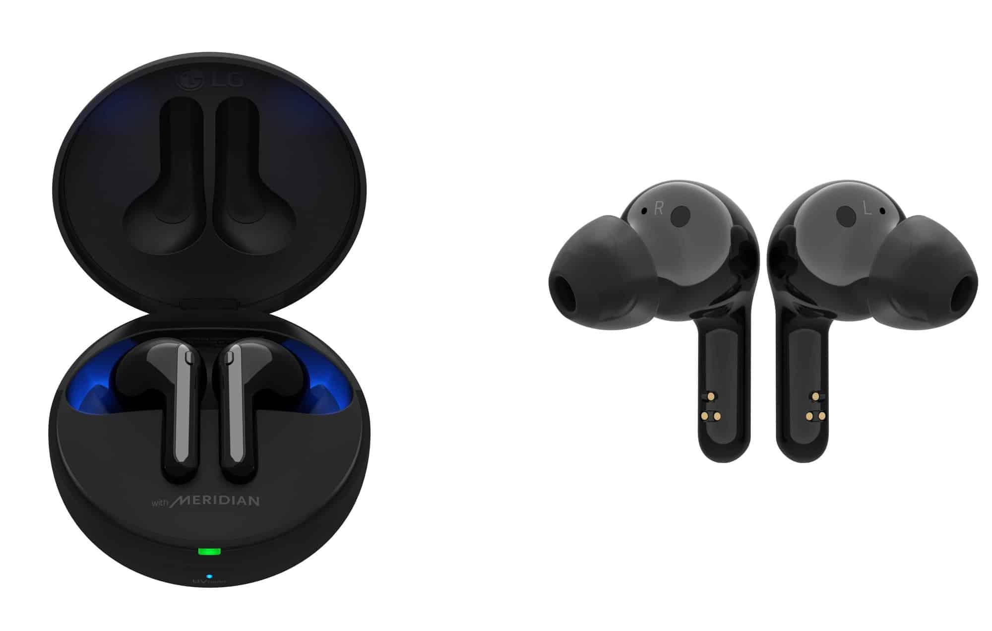 LG anuncia nova geração de fones autoesterilizantes com cancelamento de ruído