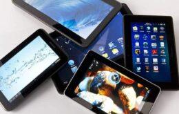 Mercado de tablets tem queda de 35% no Brasil no segundo trimestre