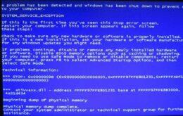 Usuários de Windows 7 relatam 'tela azul da morte'; saiba resolver