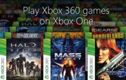 Veja lista dos games de Xbox 360 que irão rodar no Xbox One