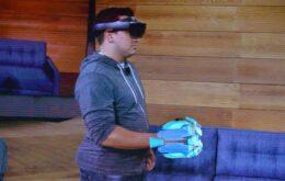 Microsoft demonstra HoloLens para jogos; kit custará US$ 3 mil