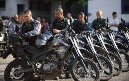 Trabalho da Polícia Militar do RJ será monitorado por câmeras