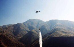 Helicóptero autônomo pode ajudar a combater incêndios