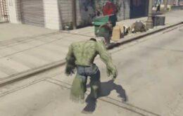 Mod coloca o Hulk no GTA 5