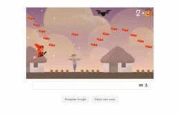 Logo do Google ganha minigame para o Dia das Bruxas