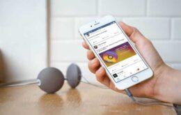 Facebook vai reproduzir Spotify e Apple Music direto no feed