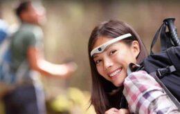 Dispositivo fixa uma câmera de alta definição na sua testa
